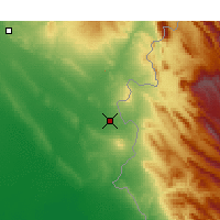 Nearby Forecast Locations - Khanaqin - Map