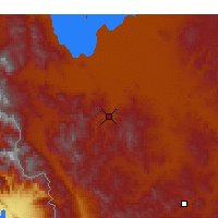 Nearby Forecast Locations - Mahabad - Map