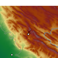 Nearby Forecast Locations - Ilam - Map