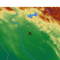 Nearby Forecast Locations - Safi-Abad Dez. - Map