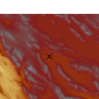 Nearby Forecast Locations - Shiraz - Map