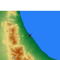 Nearby Forecast Locations - Sohar - Map