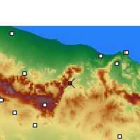 Nearby Forecast Locations - Samail - Map