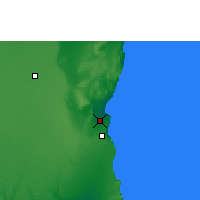Nearby Forecast Locations - Duqm - Map