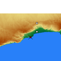 Nearby Forecast Locations - Mina Salalah - Map