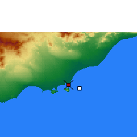 Nearby Forecast Locations - Aden - Map