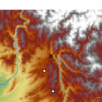 Nearby Forecast Locations - Balakot - Map