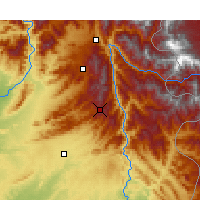 Nearby Forecast Locations - Murree - Map