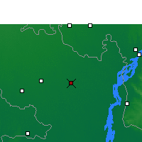 Nearby Forecast Locations - Rangpur - Map