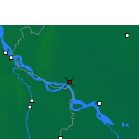 Nearby Forecast Locations - Rajshahi - Map