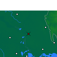 Nearby Forecast Locations - Chandpur Sadar - Map