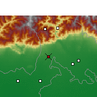 Nearby Forecast Locations - Siliguri - Map