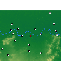 Nearby Forecast Locations - Bhagalpur - Map