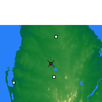 Nearby Forecast Locations - Anuradhapura - Map