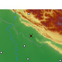 Nearby Forecast Locations - Nepalgunj - Map
