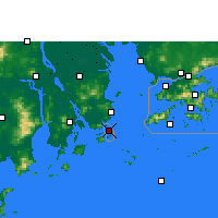Nearby Forecast Locations - Macau - Map