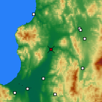 Nearby Forecast Locations - Takikawa - Map