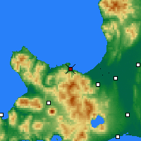 Nearby Forecast Locations - Otaru - Map