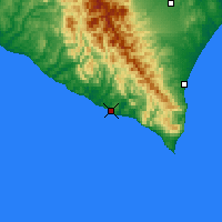 Nearby Forecast Locations - Urakawa - Map