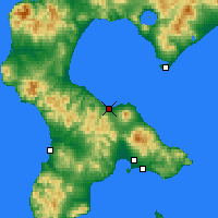 Nearby Forecast Locations - Mori - Map