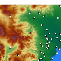 Nearby Forecast Locations - Chichibu - Map
