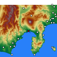 Nearby Forecast Locations - Fuji - Map