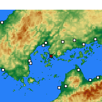 Nearby Forecast Locations - Kure - Map
