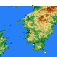 Nearby Forecast Locations - Uwajima - Map