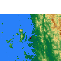 Nearby Forecast Locations - Myeik - Map