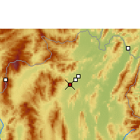 Nearby Forecast Locations - Chiang Rai - Map