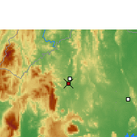 Nearby Forecast Locations - Loei - Map