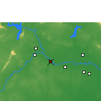 Nearby Forecast Locations - Kosumphisai - Map