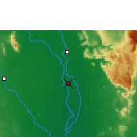 Nearby Forecast Locations - Phichit - Map