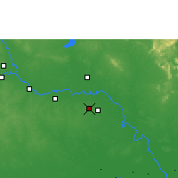 Nearby Forecast Locations - Roi Et - Map