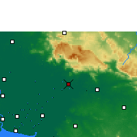 Nearby Forecast Locations - Prachinburi - Map