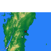 Nearby Forecast Locations - Chumphon - Map