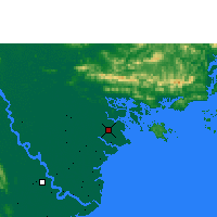 Nearby Forecast Locations - Phu Lien - Map