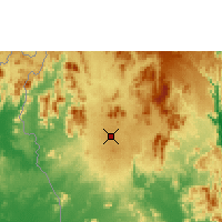 Nearby Forecast Locations - Pleiku - Map
