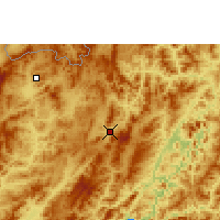 Nearby Forecast Locations - Oudomxay - Map