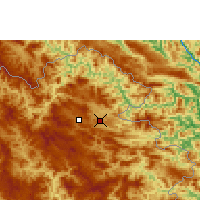 Nearby Forecast Locations - Viengsay - Map