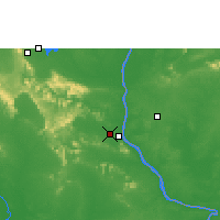 Nearby Forecast Locations - Savannakhet - Map
