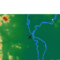 Nearby Forecast Locations - Phnom Penh - Map