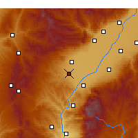 Nearby Forecast Locations - Xiaoyi - Map