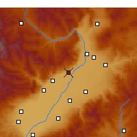 Nearby Forecast Locations - Qingxu - Map