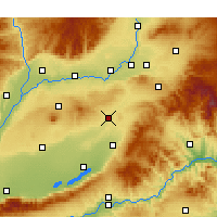 Nearby Forecast Locations - Wenxi - Map