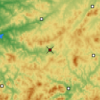Nearby Forecast Locations - Xinbin - Map