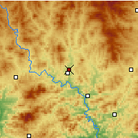 Nearby Forecast Locations - Chengde/HEB - Map