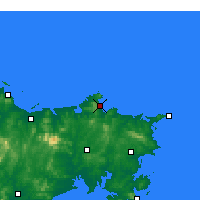 Nearby Forecast Locations - Weihai - Map