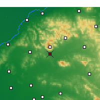 Nearby Forecast Locations - Tai'an - Map