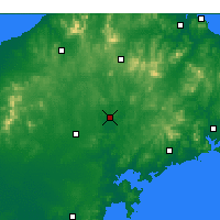 Nearby Forecast Locations - Laiyang - Map